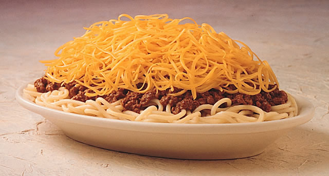 Is It Spaghetti? Is It Chili? No, it's Cincinnati Chili! - Newly ...